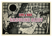 LIVE&BAR. GASOLINE ALLEY