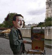 画家としてのヒトラー