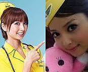 篠田麻里子&佐々木希が好き!
