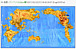 日本地図を組み替えると世界地図