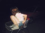 夜のスーパーマーケット