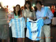 アルゼンチン留学生