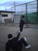 岡山中学校・高校テニス部☆