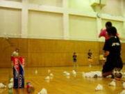 2007年度卒業小松高校バド部
