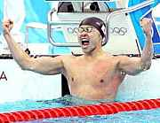 やっぱり泳ぐのが大好きです!