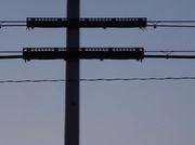 電線の電車