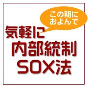 気軽に内部統制・SOX法