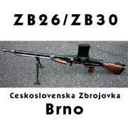 BRNO ZB26/30と弾倉式軽機関銃