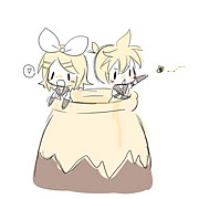 鏡音リン・レンはハチミツが好き