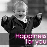Happiness for you