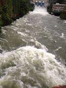 川の増水が好き。
