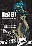 【HaZE】Underground BASS LINE
