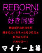 REBORN!マイナーCP好き同盟