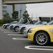 BMW Z3 Meeting in 大黒P.A