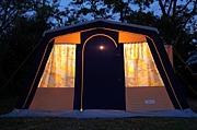 ロッジ型テント愛好家