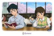 ♡図書館の女の子♡