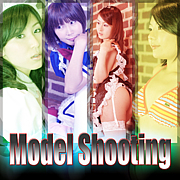 Model shooting☆