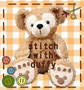 *stitch with ダッフィー*