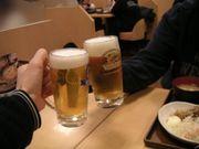 茶っと渋谷で生ビール♪