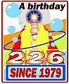 1979年2月26日が誕生日