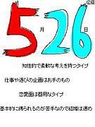 1990年5月26日生まれの人集合!!