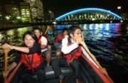 夜ボートに乗るTOKYO