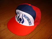 野球帽はバファローズ!