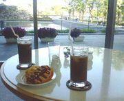 岡山県立図書館の喫茶店が好き♪