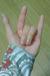 左手で手話