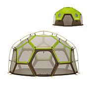 ヘリオスドームでキャンプ!