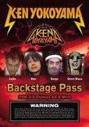 ken yokoyama[Backstage Pass]