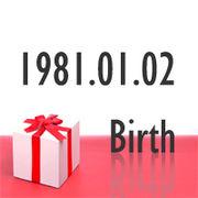 1981年1月2日生まれ
