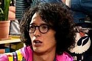 黒髪×パーマ×メガネ