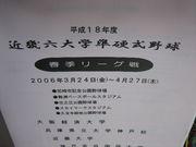 ★近畿六大学準硬式野球★