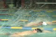 マスターズ水泳大会の情報交換