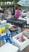 第一回無人島猿島 BBQ 会