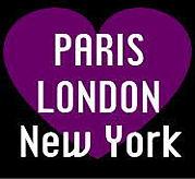 WE♥PARIS,LONDON&NY