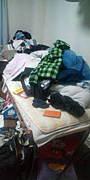 部屋に物が多い