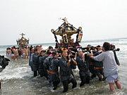 いわき四倉女神輿『紅鳳会』