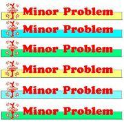 Minor Problem