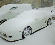 愛車VS雪