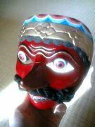 インドネシアの仮面にくびったけ