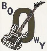 BOOWYでギターコピーしたよ。