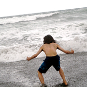 海に向かって叫びたい!!