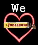 We♥toblerone