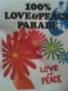100% LOVE&PEACE PARADE
