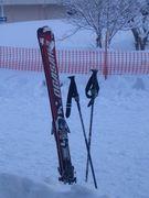スノボー、、、じゃなくてスキー
