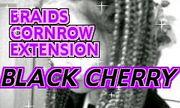 髪編み専門サロン-Black Cherry-