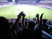 サッカー×音楽(BGM・応援)