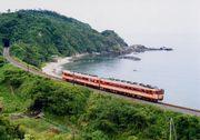 山陰中央部の鉄道